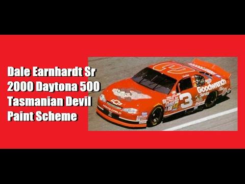 2000 Dale Earnhardt Sr. Daytona 500 Tasmanian Devil