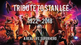 TRIBUTE TO STAN LEE! Remembering the real life Superhero! All Marvel onscreen cameos and more!