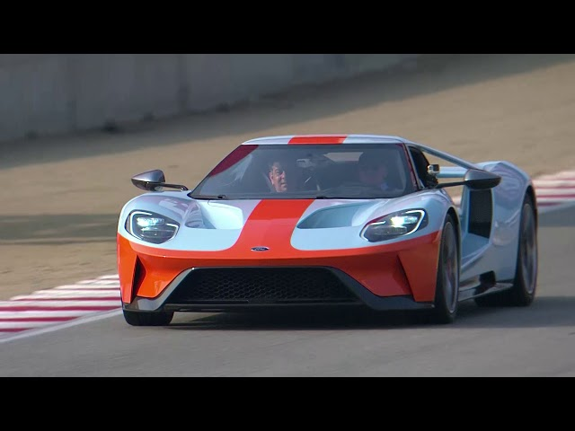 2019 Ford GT Heritage Edition on the Track