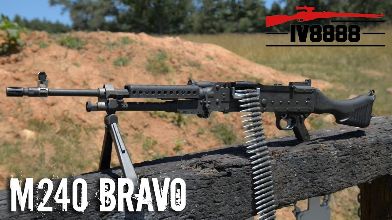 Quiet Please Sign FN M240 Bravo - YouTub...