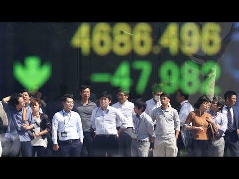 Asian Stocks Follow U.S. Stocks Lower, Commodities Biggest Casualties