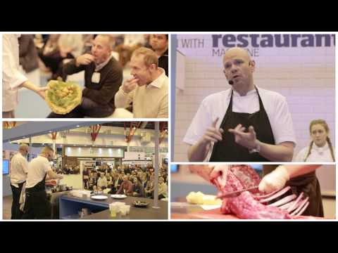 The Restaurant Show - Olympia London, 5th to 7th October 2015