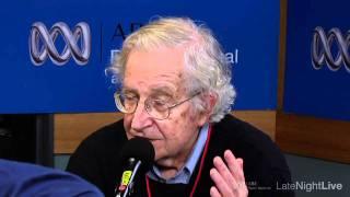 (Pt1) Noam Chomsky interview | Late Night Live