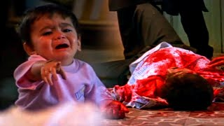 Cuán despiadadamente mató a sus padres frente a un niño pequeño. Impresionante escena de la película qaida law