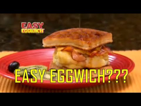 Easy Eggwich As Seen On TV Commercial Buy Easy Eggwich Egg Maker For Egg Sandwiches - 동영상