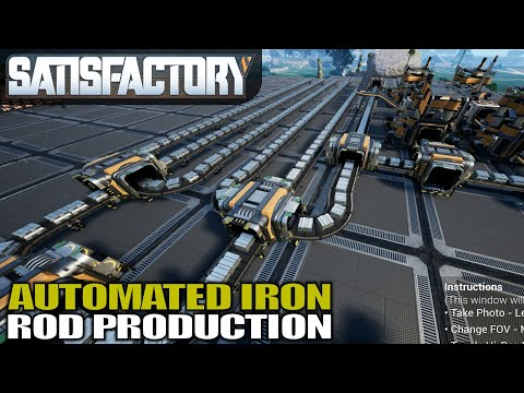 IRON RODS ARE NOW ON THE BUS | Satisfactory | Gameplay | S01E08