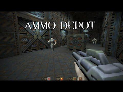 Quake II Mission Pack: Ground Zero | Ammo Depot (18/21) |