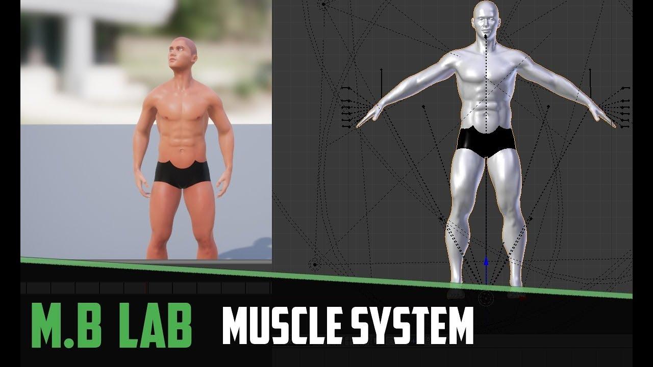 Unreal Engine 4 - ManuelbastioniLAB 1 6
