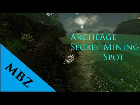 Archeage The Best Damn Mining Spot Doovi