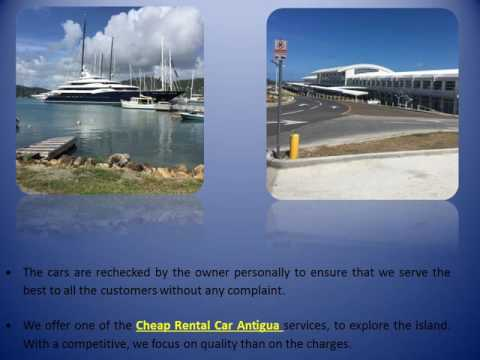 Catering To The Various Features With A Cheap Rental Car Antigua Service