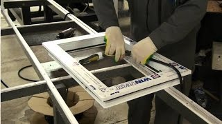 видео Как организовать с нуля производство окон ПВХ (пластиковых окон): бизнес-идея, вложения: от 545000 руб.