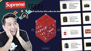 $1,000,000 ONLINE HYPEBEAST MYSTERY BOX!!! (OMG, BEST EVER?!?!)