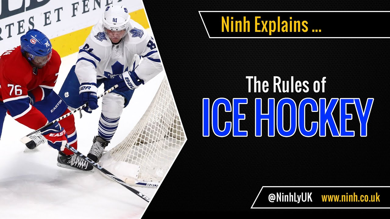 The Rules Of Ice Hockey Explained Youtube