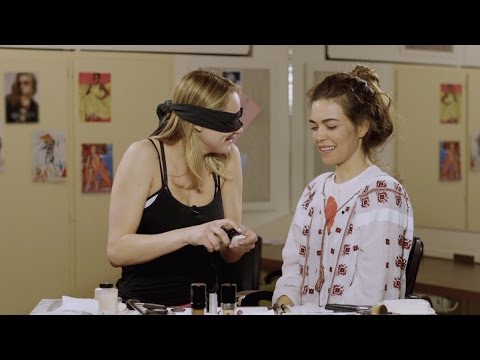 Makeup Challenge with Hunter King and Amelia Heinle