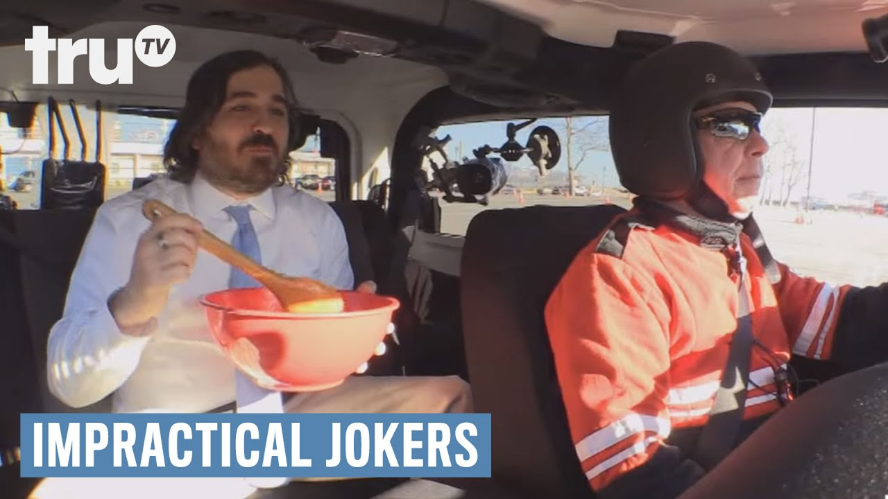 q from impractical jokers sick