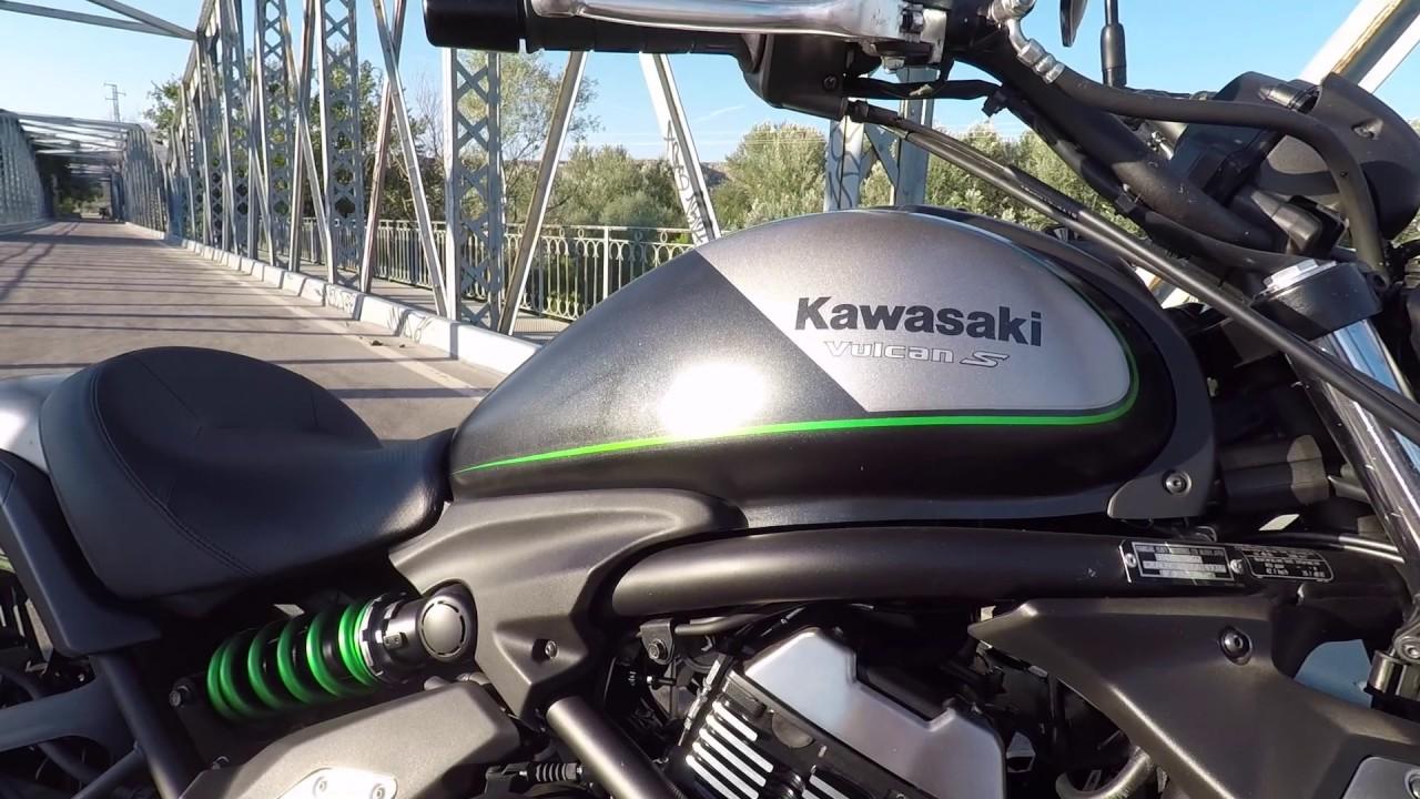 Kawasaki Vulcan S Walkaround Stock Exhaust Sound