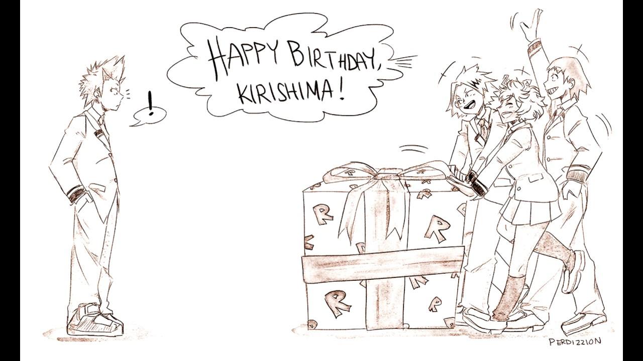 Kirishima's Birthday (Funny My Hero Academia Comic Dub)