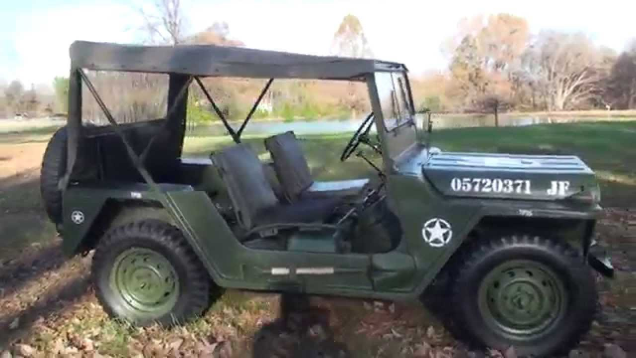 hd video 1967 military jeep m151 army navy air force a1 a2 restored for sale see www. Black Bedroom Furniture Sets. Home Design Ideas