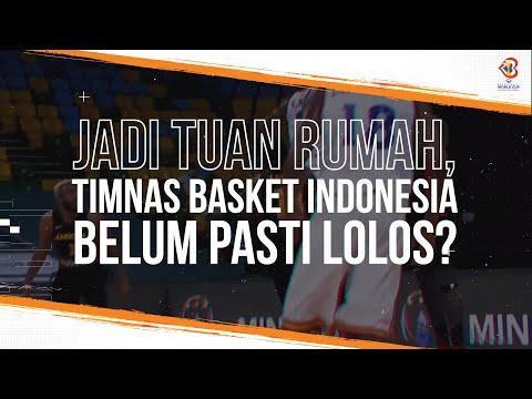 Jadi Tuan Rumah, Timnas Basket Indonesia Belum Pasti Lolos Piala Dunia Basket 2023
