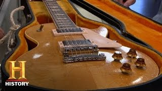 pawn stars gibson les paul guitar   history