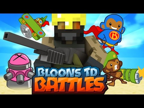 Dansk Minecraft - BLOONS TOWER DEFENCE!!