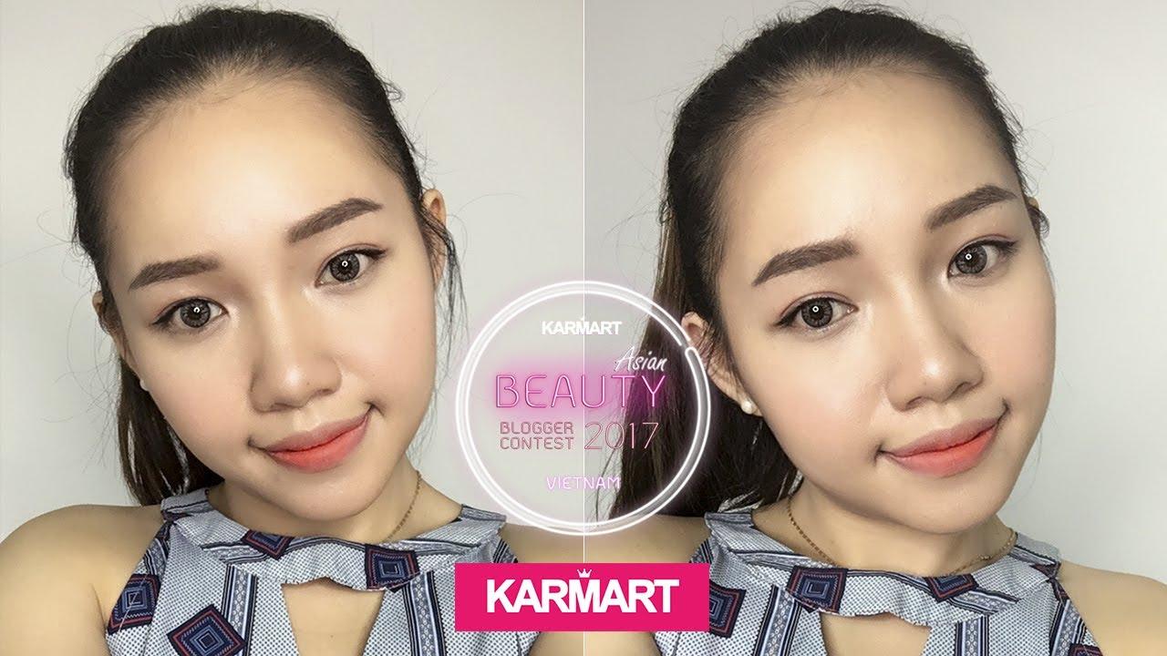 Review | Trang điểm đơn giản với mỹ phẩm Thái Lan | Karmart Asian Beauty Blogger Contest 2017