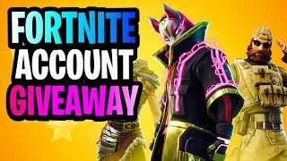 GIVING MY FORTNITE ACCOUNT AWAY FOR FREE1 SEMI-PRO FORTNITE PLAYER/ 260+ WINS/ 13K KILLS/