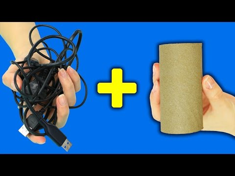 7 DIY Organization Hacks With Toilet Paper Rolls