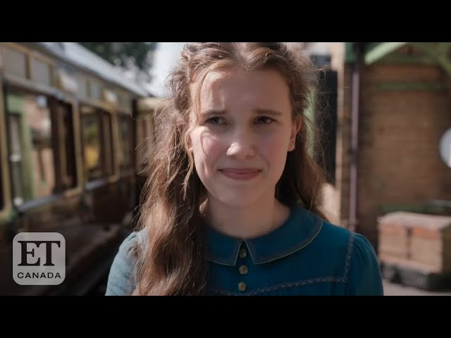 Millie Bobby Brown On First Starring Role In 'Enola Holmes'