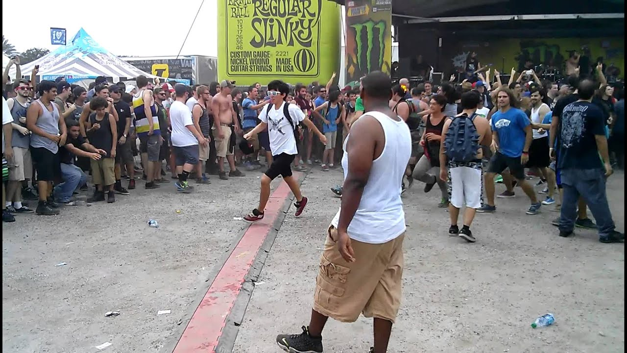 Warped Tour 2013 - West Palm Beach - Black Dhalia Murder ...