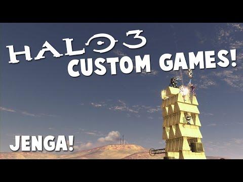 JENGA! (Halo 3 Custom Games!)