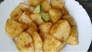 Spicy potatoes in 1 minute , chatpate Aloo for iftar by Delicious food recipes