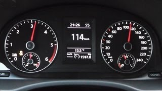 2013 Volkswagen Caddy Edition 30 2.0 TDI 170 HP 0-100 km/h Acceleration