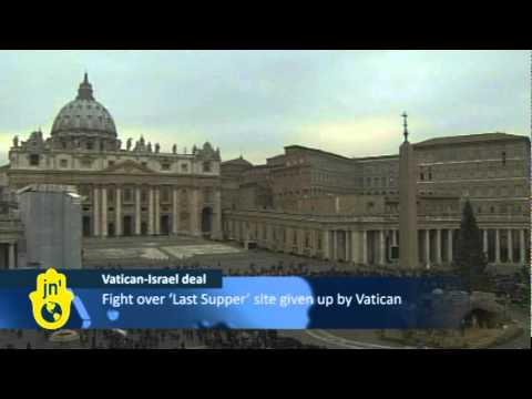 Vatican pays overdue taxes to Israel for access to Jerusalem's Mount Zion and waives sovereignty