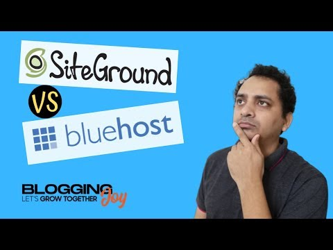 🔥SiteGround Vs Bluehost 2019 | Is SiteGround better than Bluehost | Which Is Best WordPress Hosting thumbnail