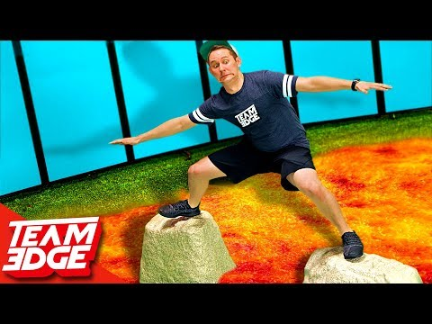 Floor is Lava Challenge!!