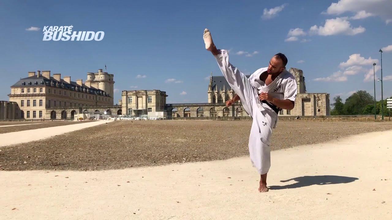 POSTER : La technique de DjemaKyoku - Magazine Karaté Bushido #KB435