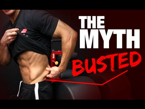 The Lower Back Fat / Love Handle Myth (BUSTED!!) - YouTube