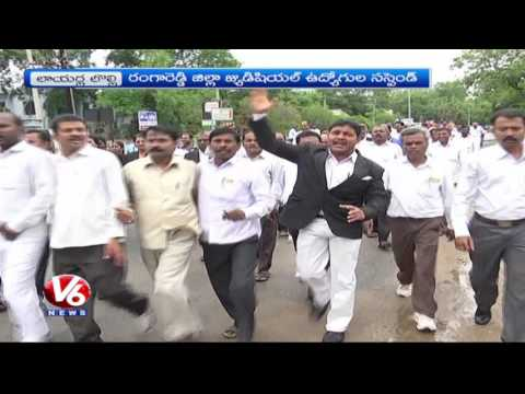 TS Lawyers Calls Chalo Hyderabad | Demands For Separate High Court | V6 News