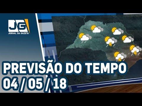 Previsão do Tempo - 04/06/2018