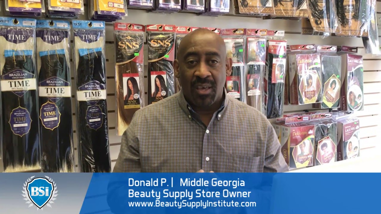 Middle Georgia black-owned beauty supply store owner