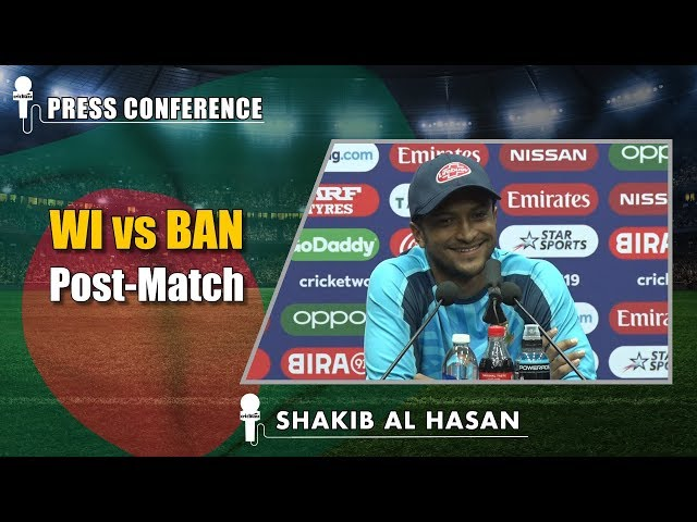 I was determined to do well in the World Cup - Shakib Al Hasan