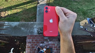 iPhone 12 Mini drop test