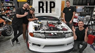 My R32 Skyline Finally Blew Up...