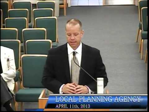 Local Planning Agency Meeting, April 11th, 2013