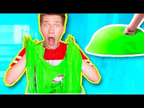 Giant Slime Stress Ball! Learn How To Make Diy Super Squishy Stress Ball!!
