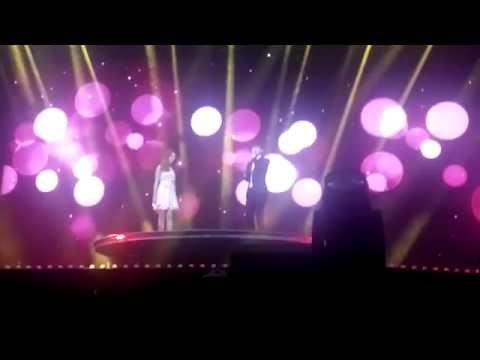 2014.08.17 Samsung Nanjing Music Festival - Zhang Liyin & Chen - 呼吸 (Breath) Fancam