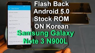 How To Install Stock Firmware On Note 4