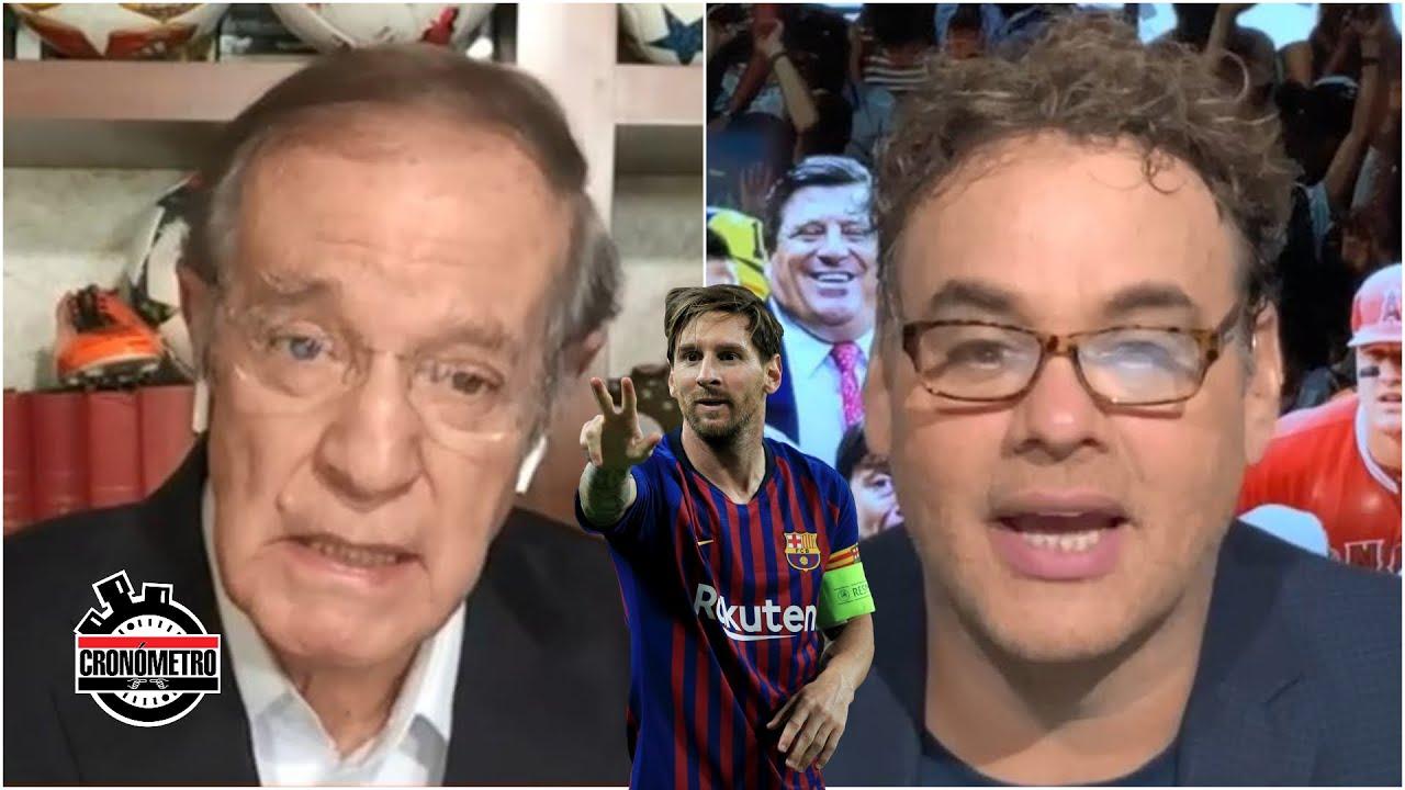 ¿MESSI SE VA? Comenzó la lucha fuerte. ¿Quién lleva las de ganar: Messi o Barcelona? | Cronómetro