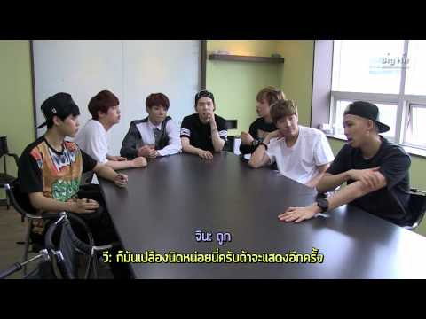 [Thai sub] [BTS in NAVER STAR CAST] BTS commentary about 가요대전 Performance (feat. 핑크소년단)